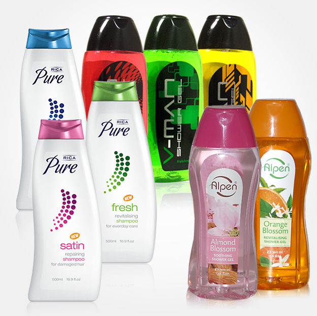 Private label Shower products