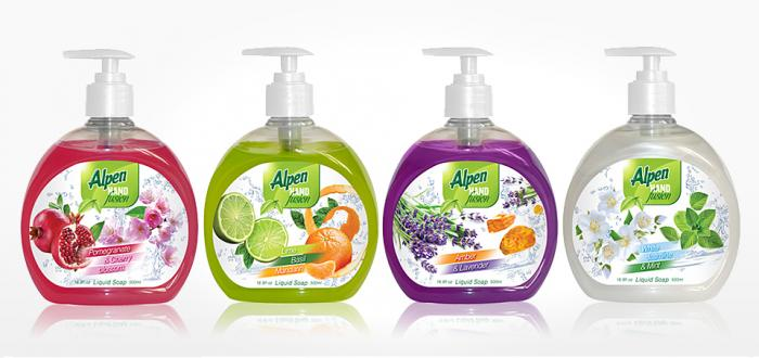 Liquid Hand Soap with exotic duo-fragrances (500ml)
