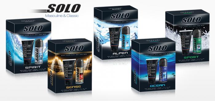 Solo Body Care Gift set