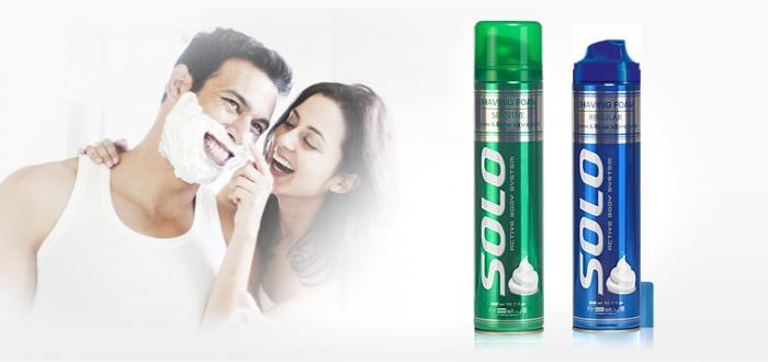 Solo Shaving Foam 300 ml