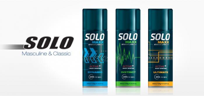 Solo MAXX Desodorante corporal 200 ml