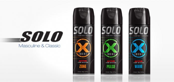Solo XTREME Body spray 200 ml