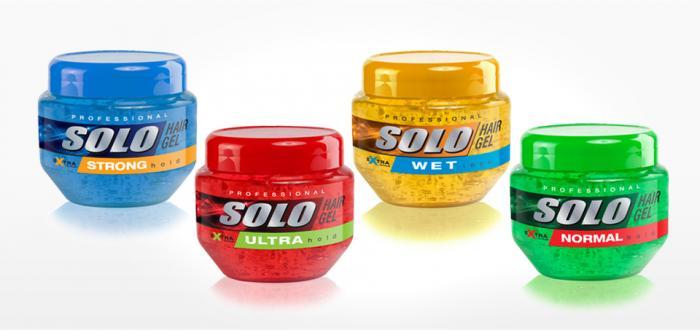 Solo Hair Gel 250 ml