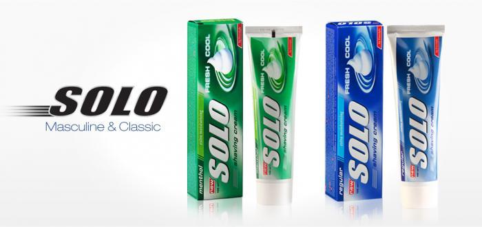 Solo Cremas de afeitar 100 ml