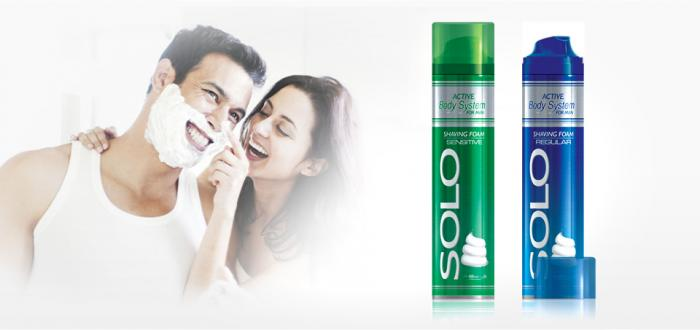 Solo Shaving Foam 300 ml