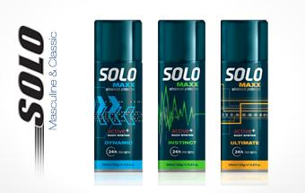 Solo MAXX Body spray 200 ml