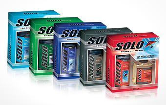 Solo Set de regalo Despues del Afeitado 125 ml & Desodorante corporal 150 ml