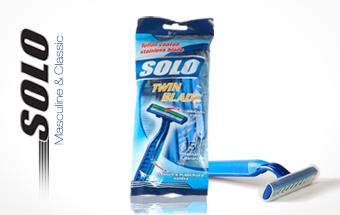 Solo desechables de doble Razor 5pcs/bag