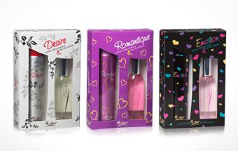 Amour Set de regalos Eau de Toilette 50 ml & Spray para el cuerpo 75 ml