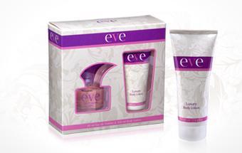 Eve Set de Regalos Eau de Toilette 40 ml & Opción corporal 100 ml